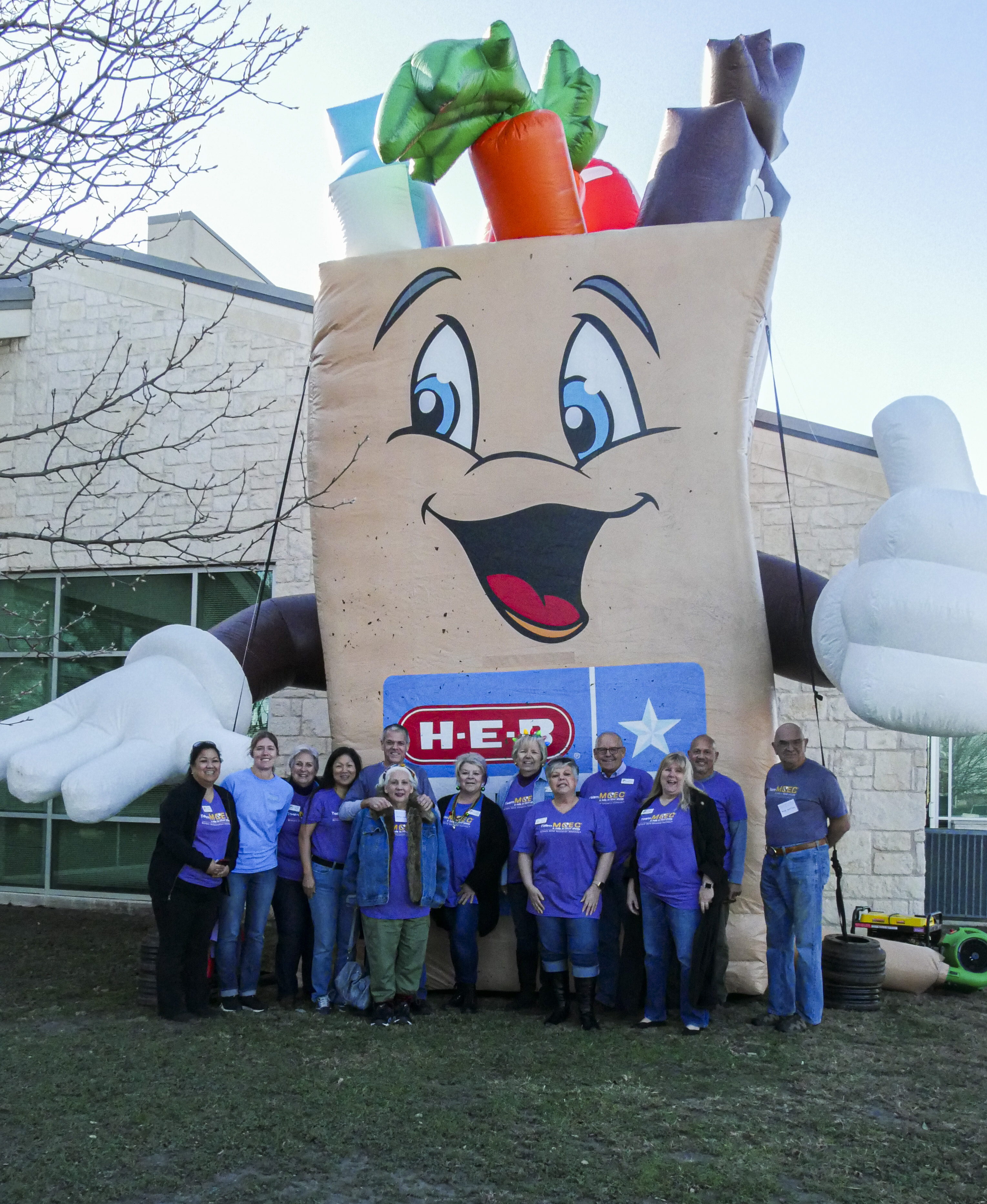 MCEC Team, HEB, Feast of Sharing