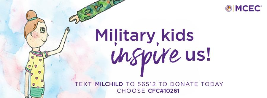 Military Kids Inspire Us